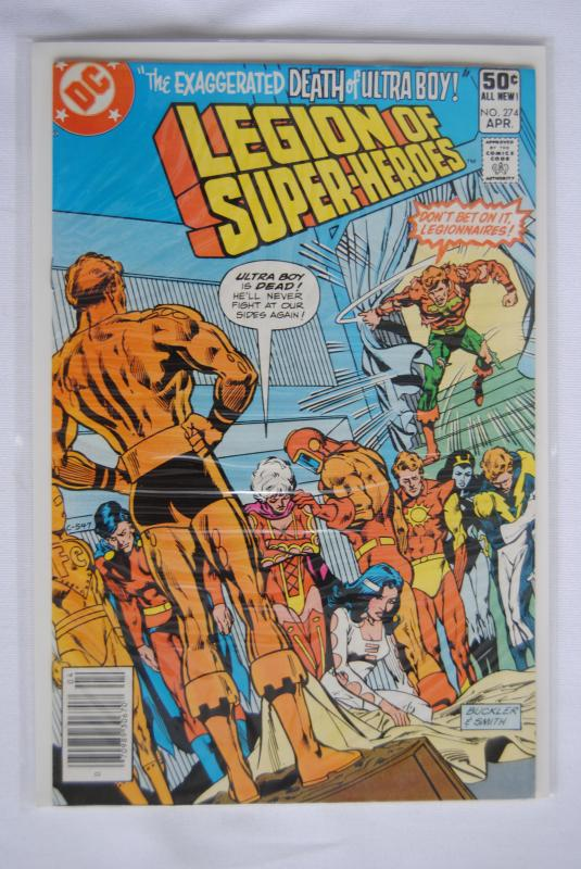 Legion of Super-Heroes 274