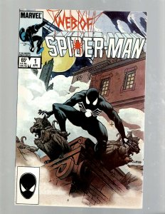 Web Of Spider-Man # 1 NM Marvel Comic Book Painted Cover Vess Venom Carnage SB5