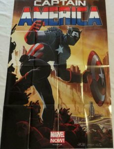CAPTAIN AMERICA Promo Poster, 24 x 36, 2012, MARVEL Unused more in our store 139