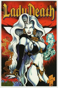 Lady Death II Between Heaven & Hell #4 (Chaos, 1995) VF/NM