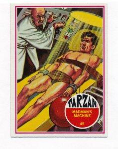 Tarzan cards, Philadelphia Gum, Banner 1966 #45