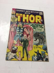 Journey Into Mystery With Thor 113 Vg- Very Good- 3.5