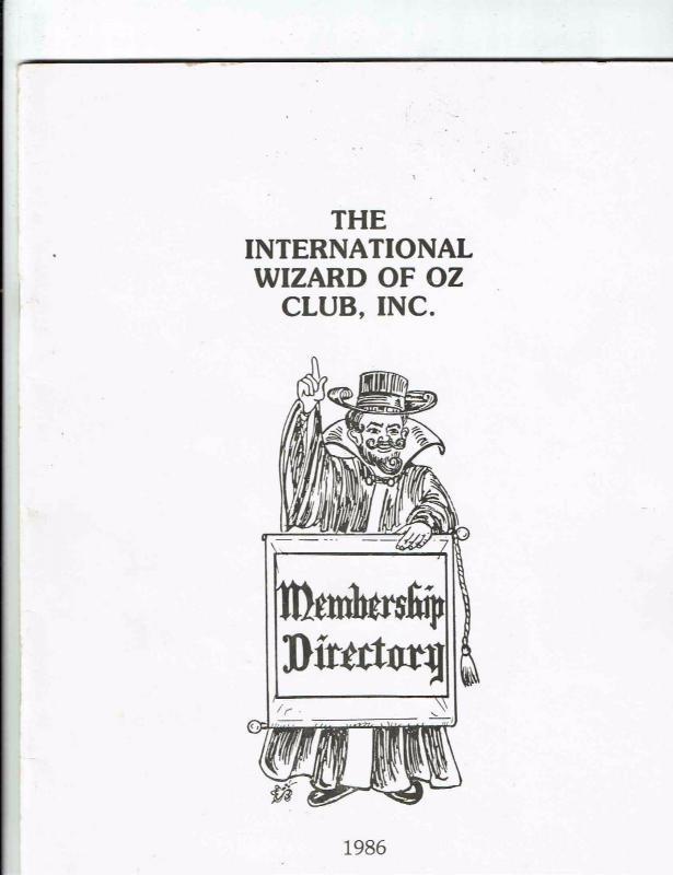 Wizard Of Oz Oziana 1986 1986 Convention Map Munchkin Con Trading Post ++++ BN13