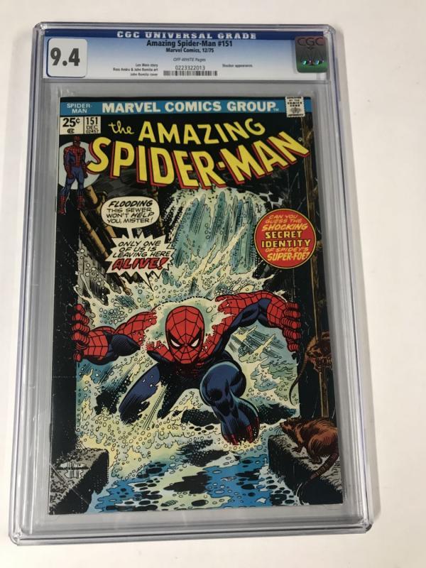 Amazing Spider-Man #151 CGC 9.4