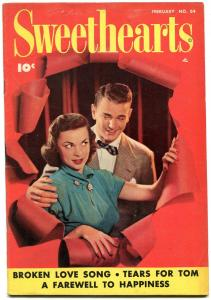 Sweethearts #84 1950- Golden Age Romance- Tears for Tom FN-