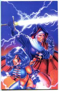 RAZOR WARRIOR NUN AREALA - FAITH #1, NM, Sandoval, Variant, 1996, more in store