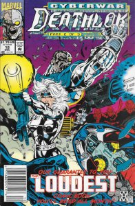 Deathlok (2nd Series) #18 (Newsstand) FN; Marvel | save on shipping - details in