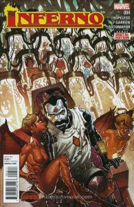 Inferno #4 VF/NM; Marvel | save on shipping - details inside