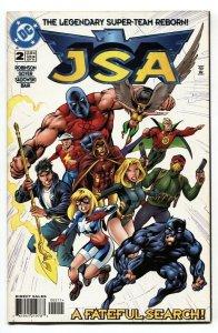 JSA #2 1999 Star-Spangled Kid-Hourman DC comic book