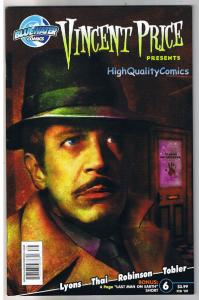 VINCENT PRICE #6, NM-, Horror, Joel Robinson, 2008, more VP in store