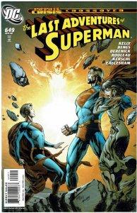 Adventures of Superman #649 Last Issue - NM+