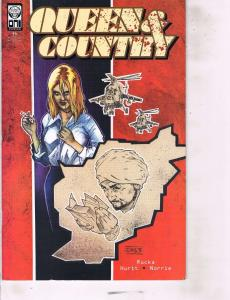 Lot Of 6 Queen & County Oni Comic Book #6 7 8 9 10 11 AB7