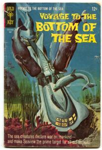 Voyage To The Bottom Of The Sea #12 1968-Gold Key- G