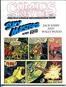 Comics Revue #130 1997-Kirby-Wood-Sky Masters-Phantom-Modesty Blaise-VF