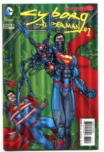 Action Comics-Superman-#23.1-Cyborg Superman-#1-3-D Variant-2nd Print-NM