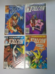 Falcon set #1-4 Newsstand edition 6.0 FN (1983)