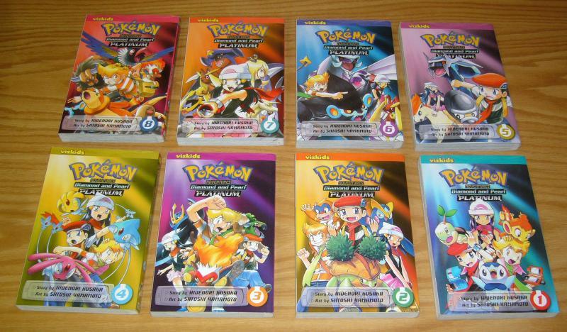Pokemon Adventures: Diamond and Pearl - Platinum #1-11 VF/NM complete series set
