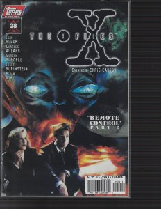 X-Files #28 (Topps, 1997) NM