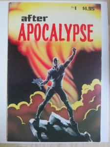 After Apocalypse #1 (Paragraphics 1987) Art by and Signed by Mark Bagley