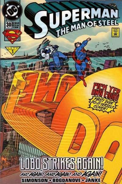 Superman: The Man of Steel #30, NM + (Stock photo)