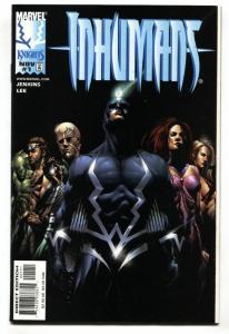 INHUMANS #1-1998-BLACK BOLT- MARVEL First issue NM-