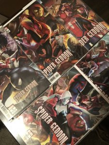 Spidergeddon connecting covers