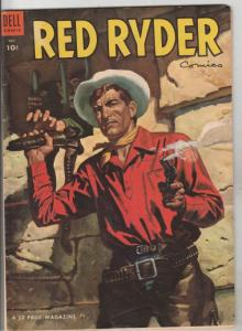 Red Ryder Comics #123 (Oct-53) FN+ Mid-High-Grade Red Ryder