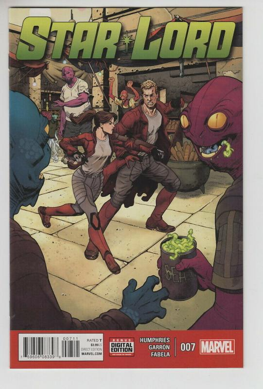 STAR-LORD (2015 MARVEL) #7 NM- FIRST PRINT NM- AG4RR4