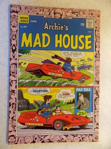 ARCHIE'S MAD HOUSE # 54 ARCHIE JUGHEAD VERONICA BETTY RIVERDALE
