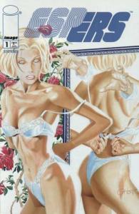 ESPers (1997 series) #1, NM + (Stock photo)