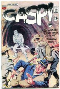 GASP! #3 1967-ACG COMICS-WILD GHOST CIVIL WAR COVER VF