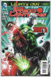 Red Lanterns   # 24 VF/NM (Lights Out 4)