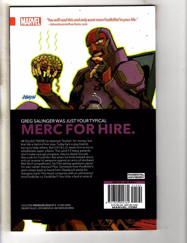 Foolkiller Psycho Therapy Marvel Comics TPB Graphic Novel Comic Book J281