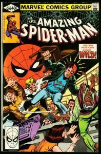 AMAZING SPIDER-MAN #206-1980-MARVEL-fine FN