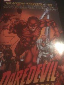 Marvel The Official Handbook of The Marvel Universe Daredevil 2004 Mint