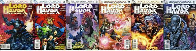 COUNTDOWN LORD HAVOK & EXTREMISTS (2007) 1-6  COMPLETE!