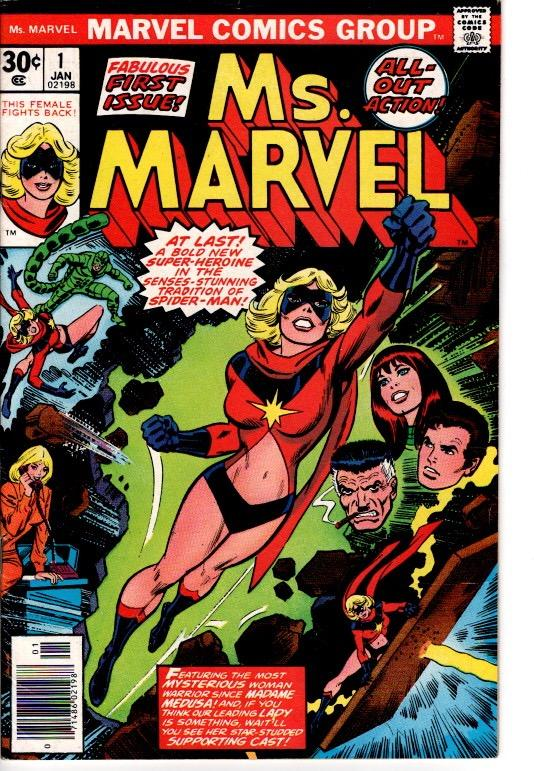 MS MARVEL #1 FINE/VFN $37.00