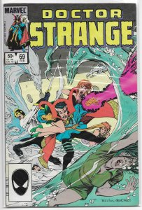 Doctor Strange (vol. 2, 1974) #69 FN Stern/Paul Smith, Black Knight