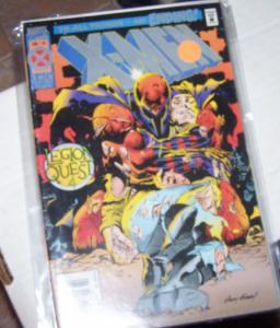 X MEN  # 41 marvel 1995  legion questy py 4. xavier dies AGE OF APOCALYPSE