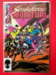 STRIKEFORCE MORITURI V1 #3 MARVEL 1986 / NM QUALITY