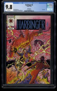 Harbinger #0 CGC NM/M 9.8 White Pages Pink Variant