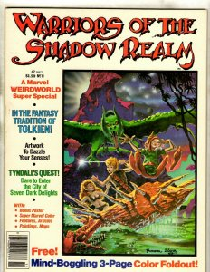 4 Comics Magazine Warriors of the Shadow Realm 11 13 Little Apple Orchard + JF29