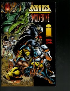 Badrock Wolverine Vol. # 1 Marvel Image Comic Book TPB Graphic Crossover J402
