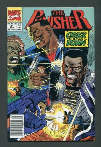 Punisher #61 / 8.5 VFN+  Newsstand  March 1992