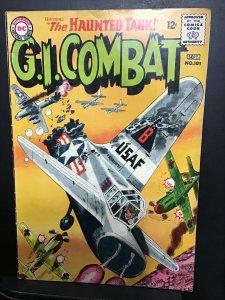 G.I. Combat #101 (1963). Mid grade haunted tank key! FN Wow!