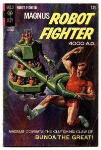 Magnus Robot Fighter #20 1967-Gold Key-Russ Manning-robot cover VG