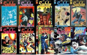 SABLE (MIKE GRELLS; 1990 FS) 1-10  COMPLETE!