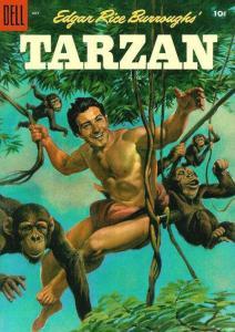 Tarzan (1948 series) #70, VG- (Stock photo)