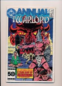 DC Comics ~ Annual The WARLORD #4   VF (SRU693)