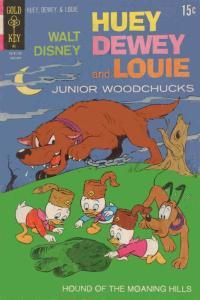 Huey, Dewey, and Louie Junior Woodchucks #12 FN; Gold Key | save on shipping - d